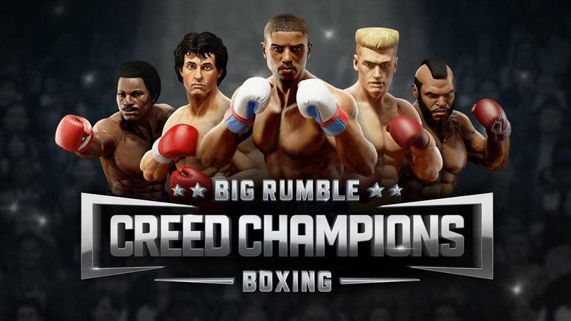 Test de Big Rumble Boxing: Creed Champions. Un jeu de boxe très arcade