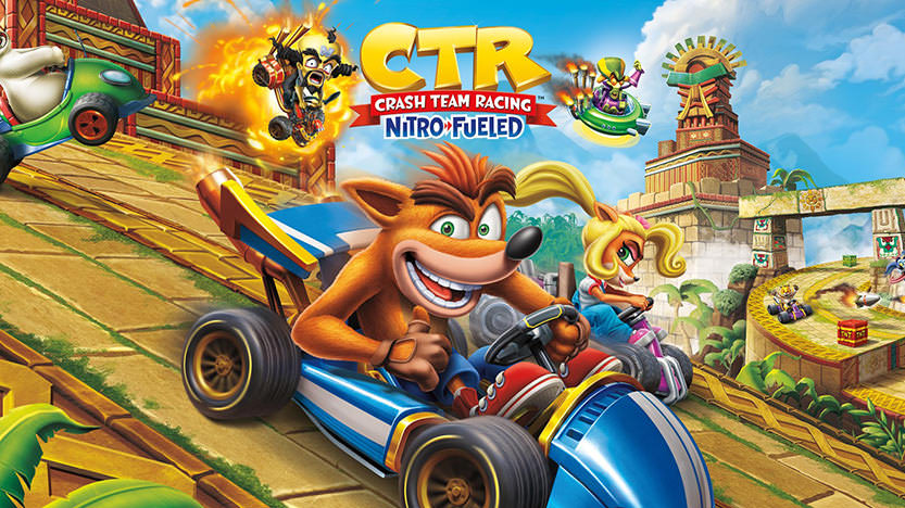 Test de Crash Bandicoot Team Racing Nitro Fueled : un jeu de course fun