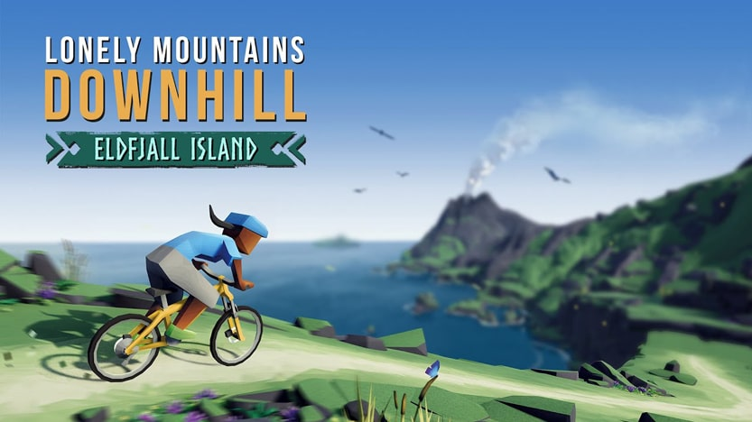 Test de Eldfjall Island. Le premier DLC de Lonely Mountains: Downhill