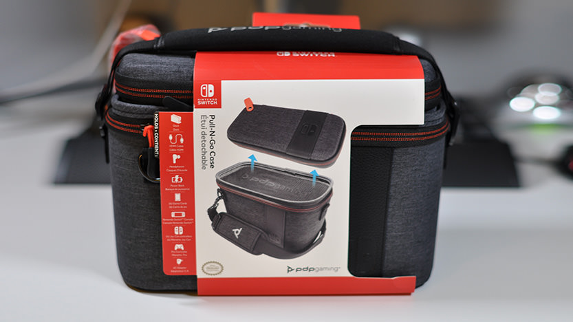 Test de l'étui de transport pour nintendo switch Pull-N-Go Case - Elite Edition