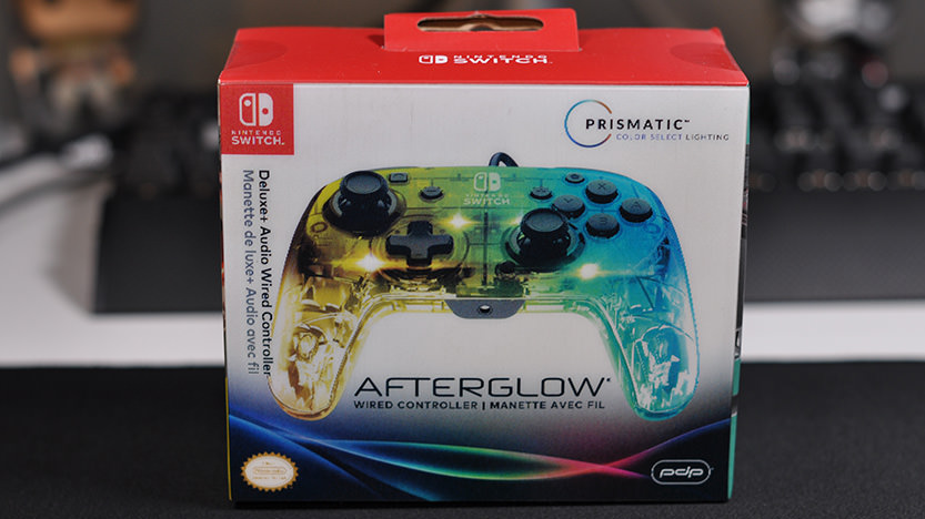Test de la manette Switch PDP Afterglow Deluxe+ Audio Wired Controller