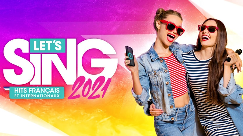 Test de Let's Sing 2021 Hits français et internationaux sur Switch