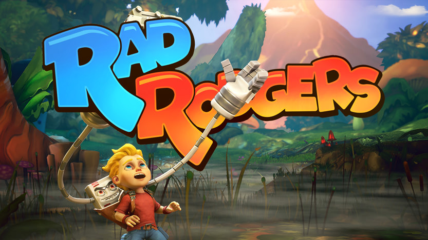 Test de Rad Rodgers sur PS4