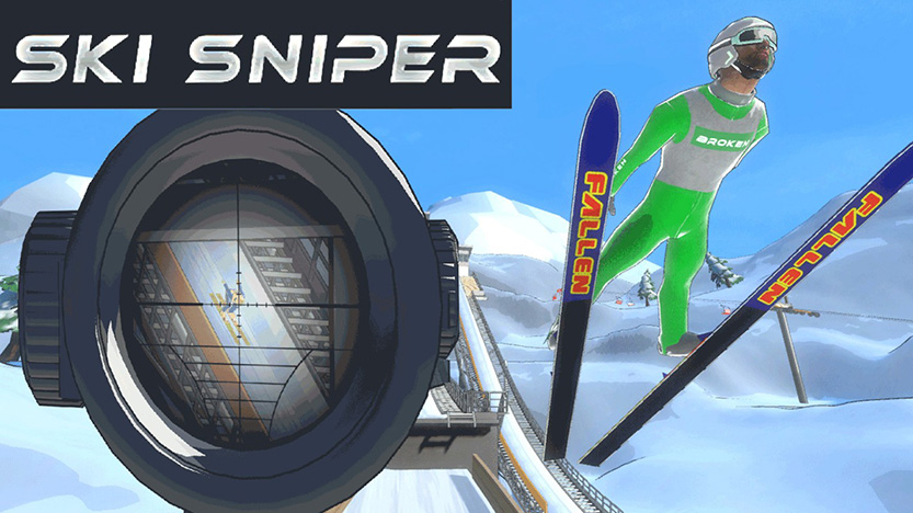 Test de Ski Sniper sur Nintendo Switch
