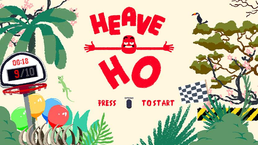 Test deu jeu Heave oh... Il va falloir se serrer les coudes pour avancer