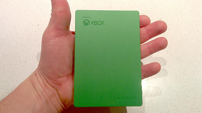 Test du disque dur externe Seagate pour Xbox One