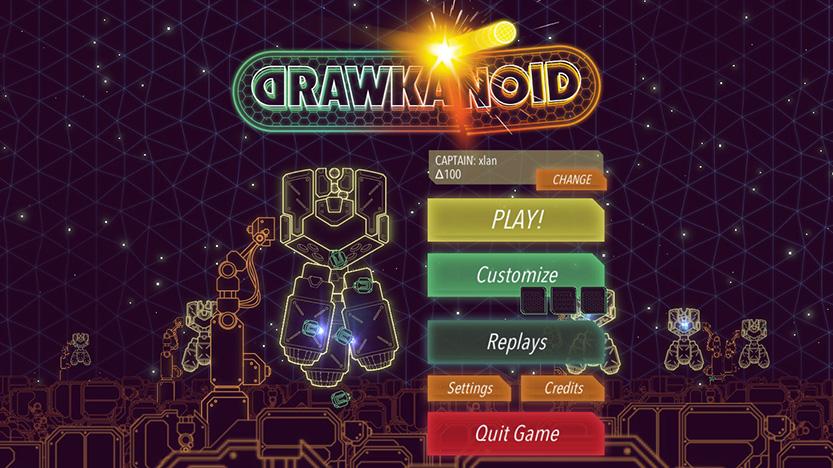 Test du jeu Drawkanoid : Un casse-briques à la vitesse de la lumière
