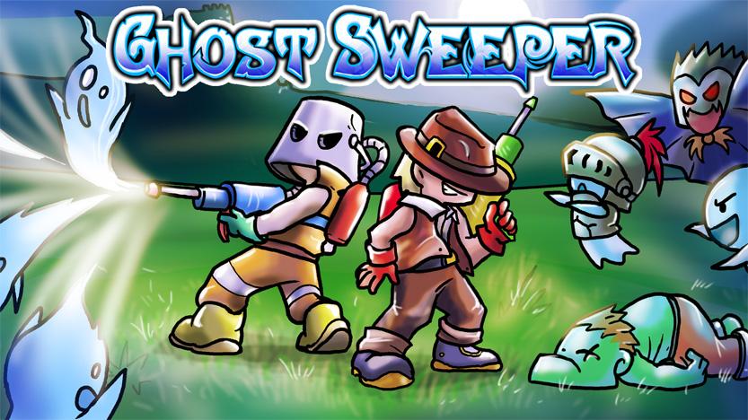 Test du jeu Ghost Sweeper - Un hommage à Solomon's Key et aux jeux Amiga