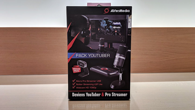 Test du Pack Youtuber Avermedia Pro Streamer : le pack tout-en-un