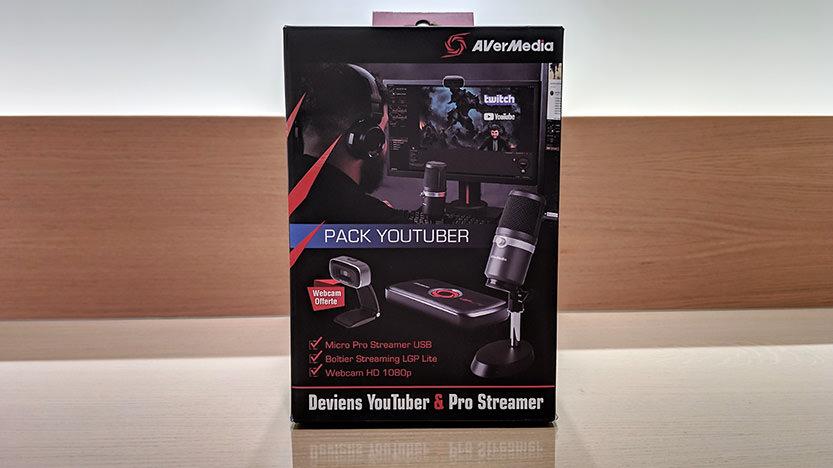 Pack Youtuber Avermedia Pro Streamer