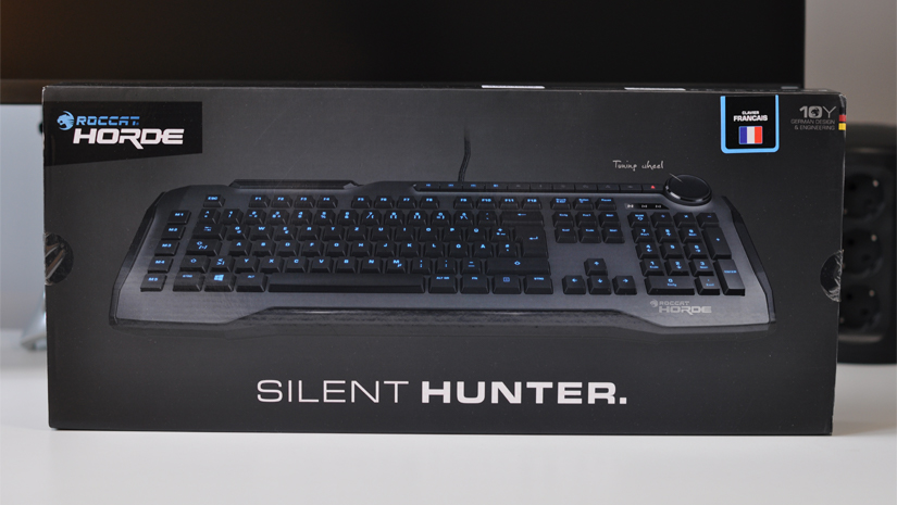 Test du Roccat Horde Silent Hunter, un clavier gaming membranical