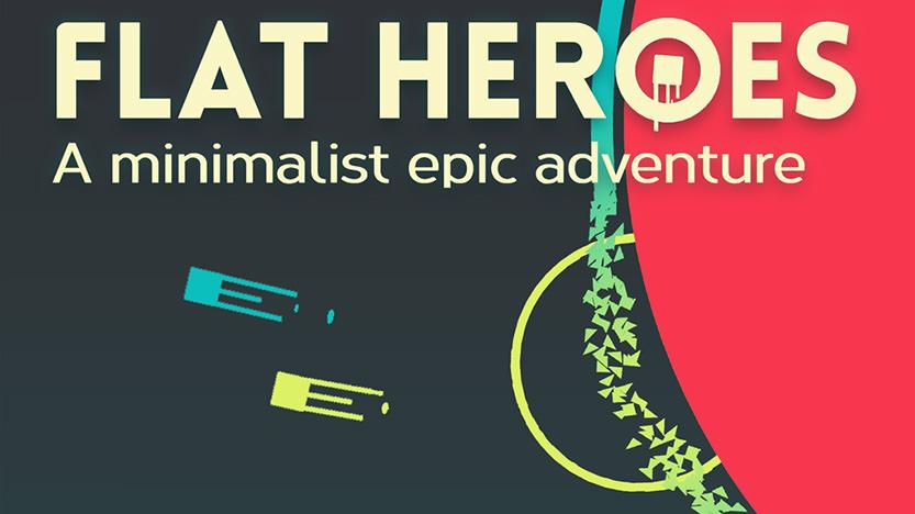 Test Flat Heroes : un jeu entre plateforme et manic shooter