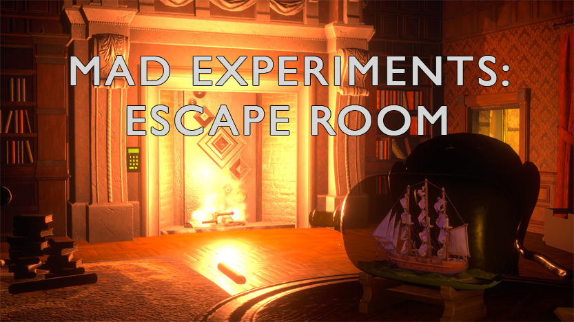 Test Mad Experiments: Escape Room. Un jeu d'évasion sur ordinateur