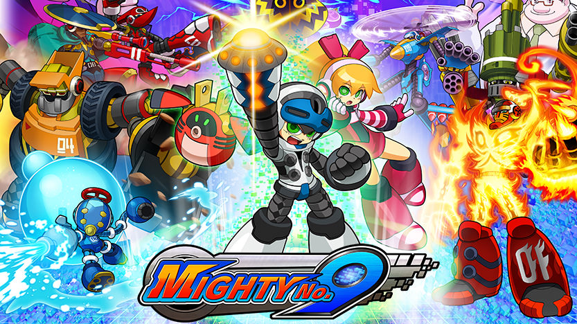 Test Mighty No. 9 - Megaman