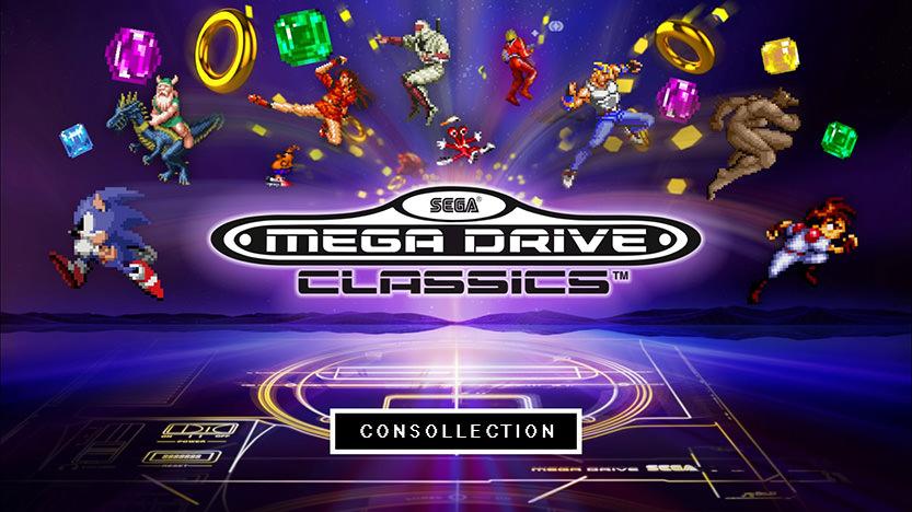 Test SEGA Mega Drive Classics - Compilation de jeux sur PS4 et Xbox One
