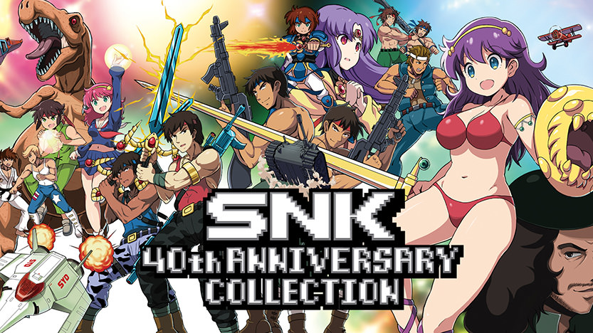 Test SNK 40th Anniversary Collection : du retrogaming sur Switch
