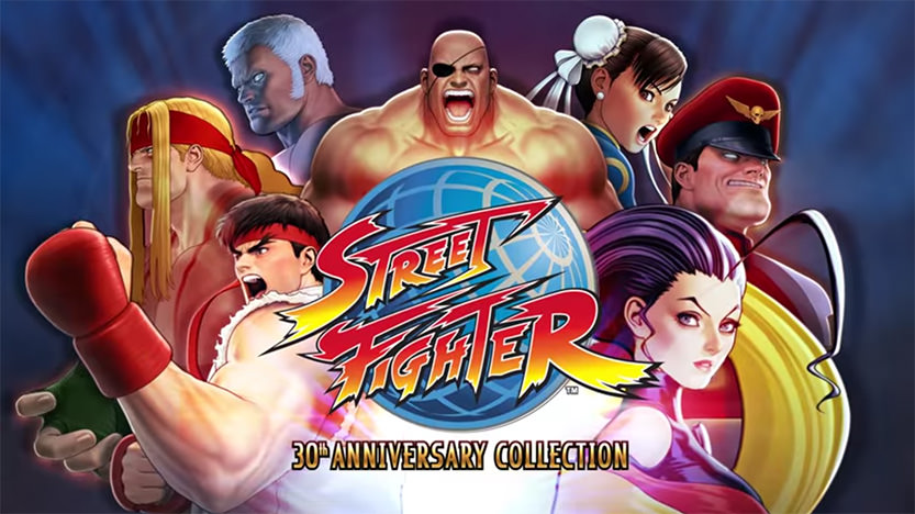 Test Street Fighter: 30th Anniversary Collection Switch PS4 Xbox One PC