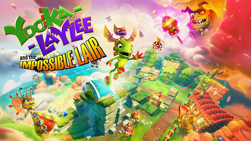 Test Yooka-Laylee and The Impossible Lair sur PS4, Xbox One, Switch et PC