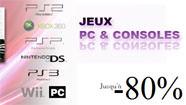 Vente privée de jeux vidéo PC & consoles