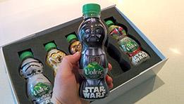 Volvic Star Wars : présentation du coffret et des bouteilles