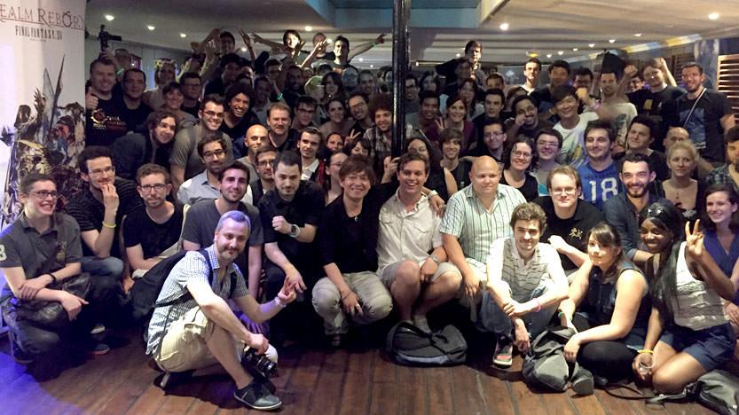 Fan gathering Final Fantasy - Naoki Yoshida
