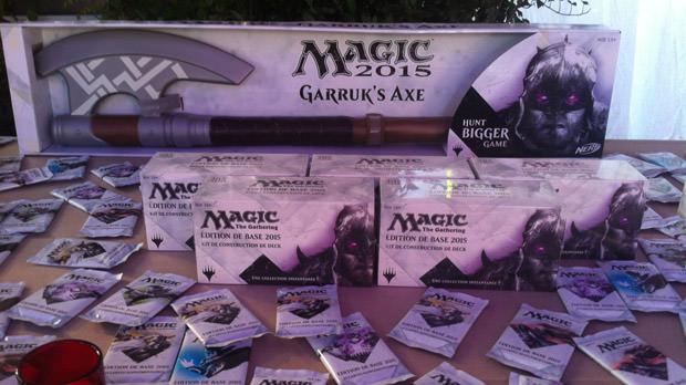 Compte-rendu de la soirée de lancement Magic 2015 au Chalet des Iles à Paris