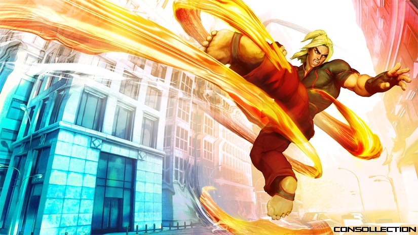 Artwork Street Fighter V