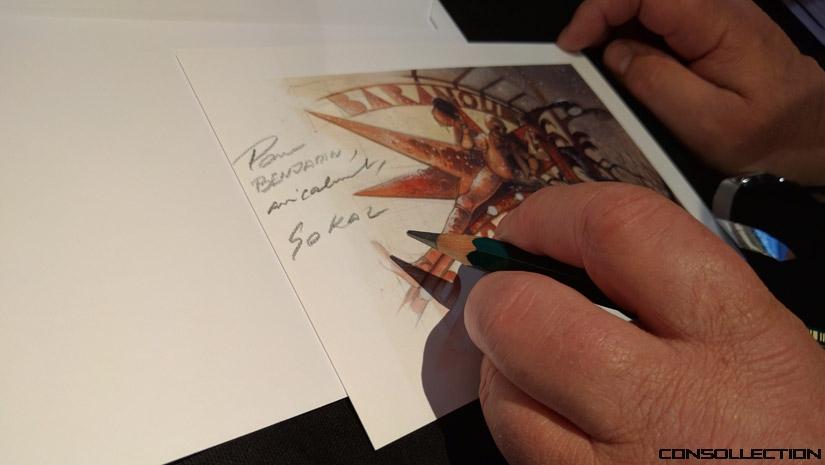 J'ai rencontré Benoit Sokal à la Paris Games Week