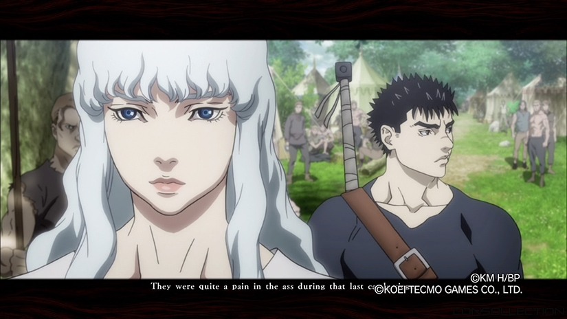 Cinématiques dans Berserk and the Band of the Hawk