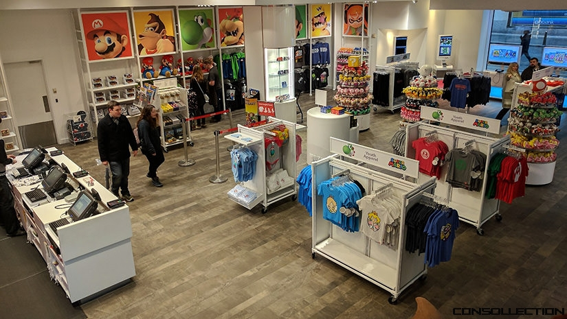 Boutique Nintendo à New York