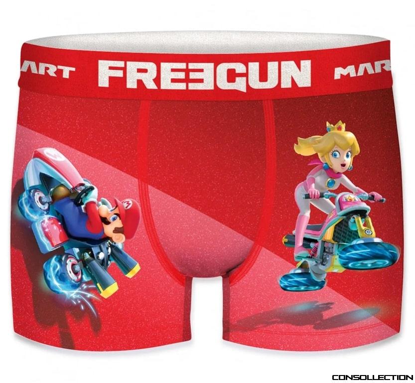 Boxer FREEGUN x Mario Kart
