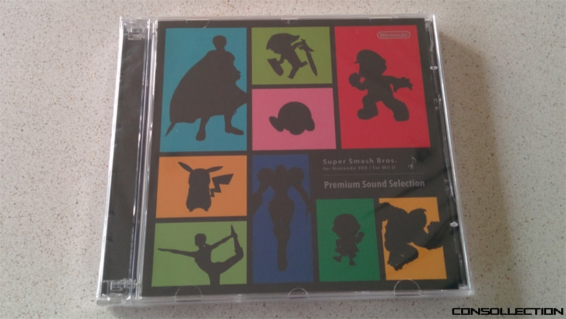 CD audio Super Smash Bros.