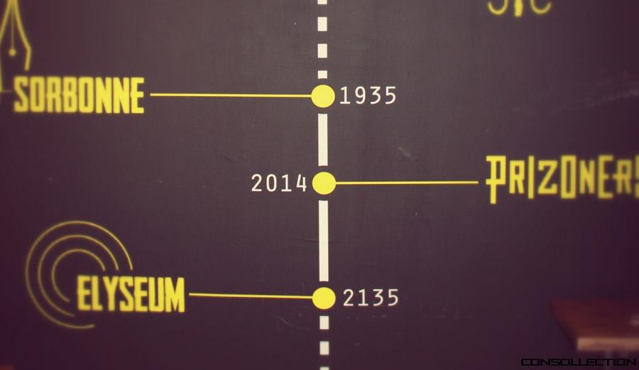 Chronologie de Prizoners