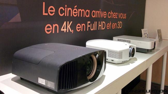 Cinéma 4K et en 3D