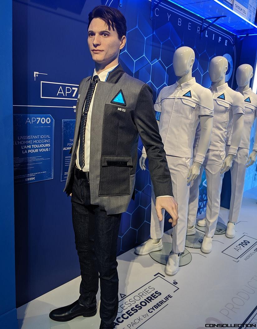Connor au musée Grévin