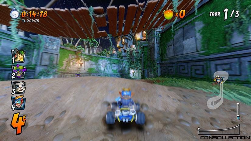 Crash Bandicoot Team Racing Nitro Fueled