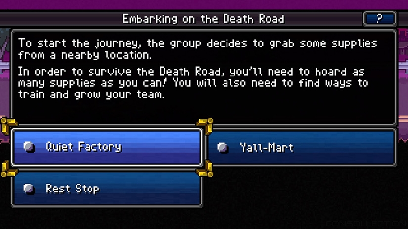 Embarking on the Death Road