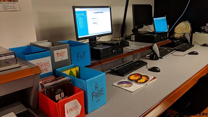 Département Audiovisuel de la BNF