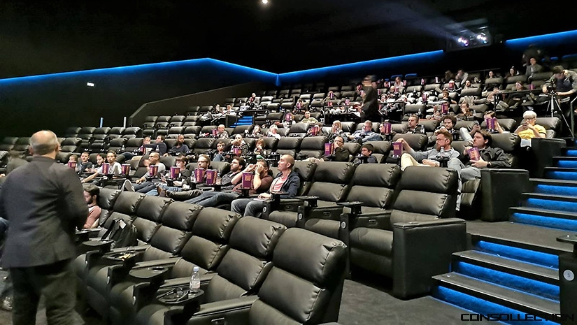 Dolby Cinema Pathé Belle Épine - Photo : Agence the messengers