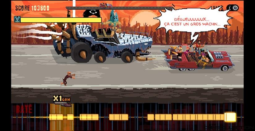 Test de double kick heroes le jeu heavy metal avec des for Jeu scout exterieur