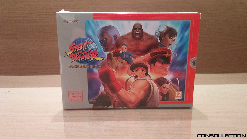 Edition collector de Street Fighter 30th Anniversary Collection