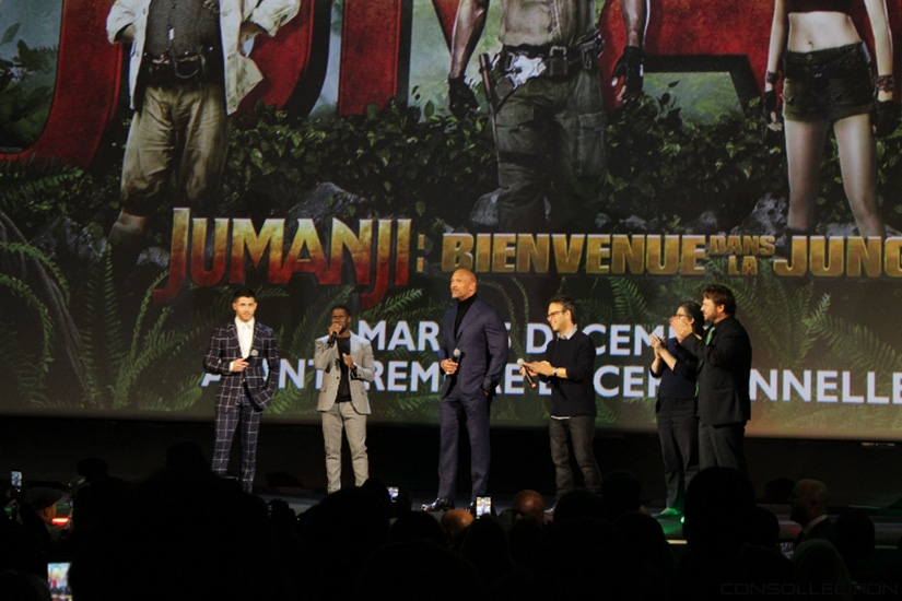 L'équipe du film Jumanji : Bienvenue dans la Jungle