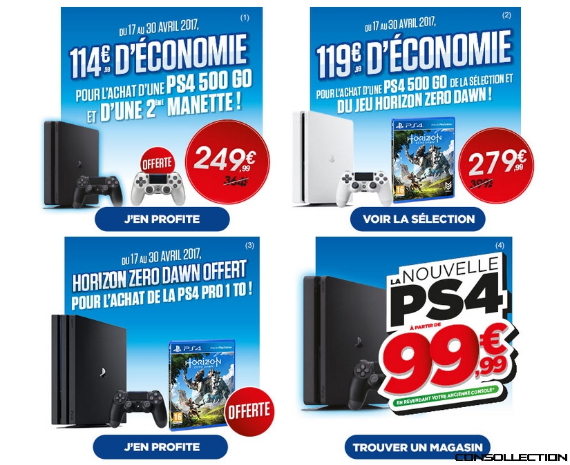 Reprise ps4 chez micromania consollection - Reprise de console micromania ...