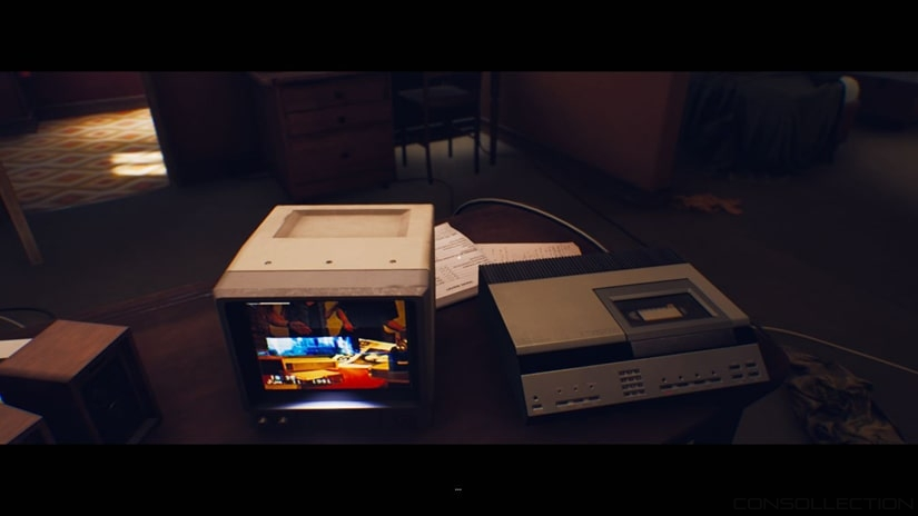 La lecture de la VHS. L´un des passages les plus marquants
