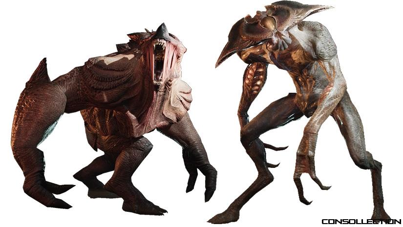 Le bestiaire du jeu Earthfall