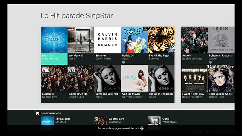 Le Hit-Parade de SingStar