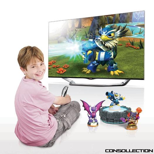 Le jeu vidéo Skylanders Battlegrounds offert sur la plateforme Smart TV