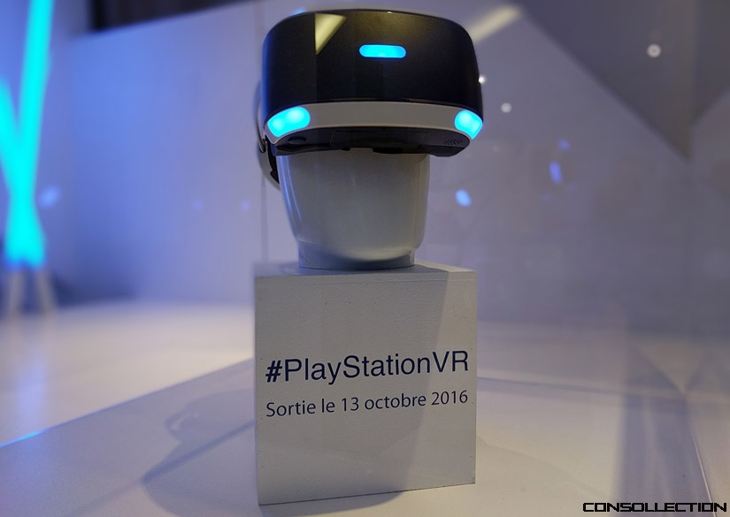 Le PlayStation VR sort le jeudi 13 octobre 2016