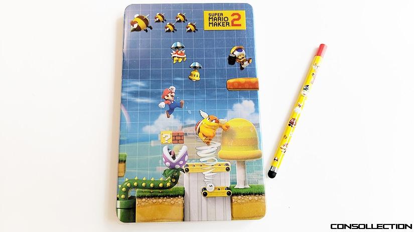 Le Steelbook Super Mario Maker 2 et son Stylet