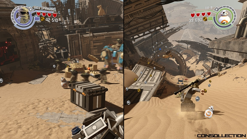 Test de Lego Star Wars: Le Réveil de la Force